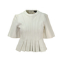 Authentic Second Hand Alexander Wang Leather Peplum Top (PSS-143-00095) - Thumbnail 0