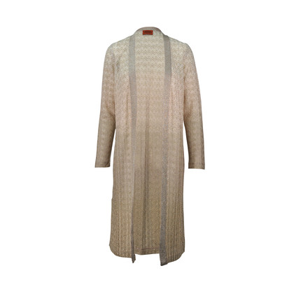 Second Hand Missoni Gold Lurex Twin Set Dress And Cardigan | THE ...