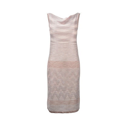Authentic Second Hand Missoni Lurex Pink Dress (PSS-246-00220)