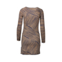 Authentic Second Hand Missoni Asymmetrical Stripe Dress (PSS-246-00223) - Thumbnail 1