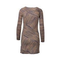 Missoni asymmetrical stripe dress 2