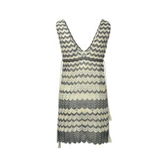 M missoni tie empire waist dress 2