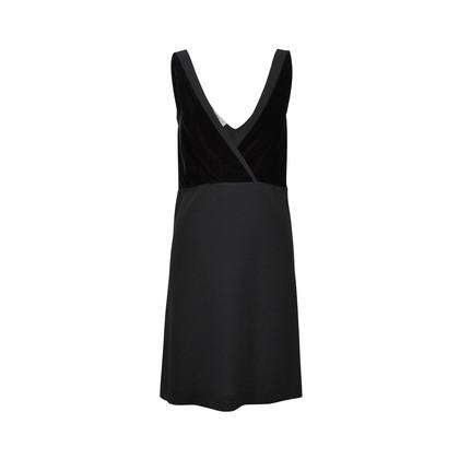 Authentic Second Hand Prada Velvet Top Dress (PSS-246-00195)