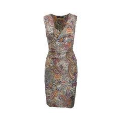 Sleeveless Paisley Dress