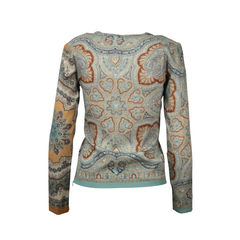 Etro paisley long sleeved top 2
