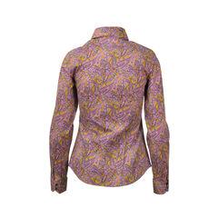 Etro orange fuschia paisley shirt 2