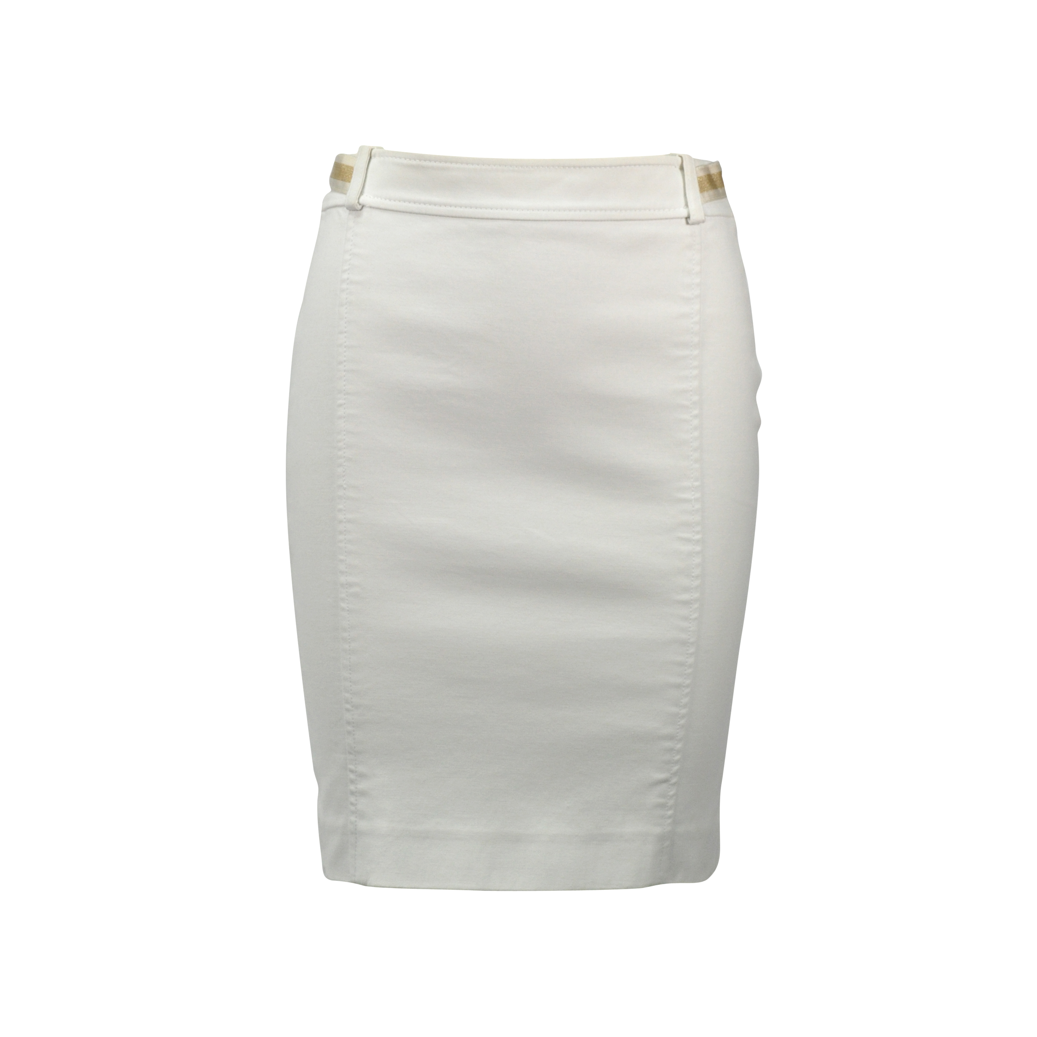 5bac6b83697 Authentic Second Hand Gucci Pencil Skirt with Waistband Detail (PSS-246-00181)
