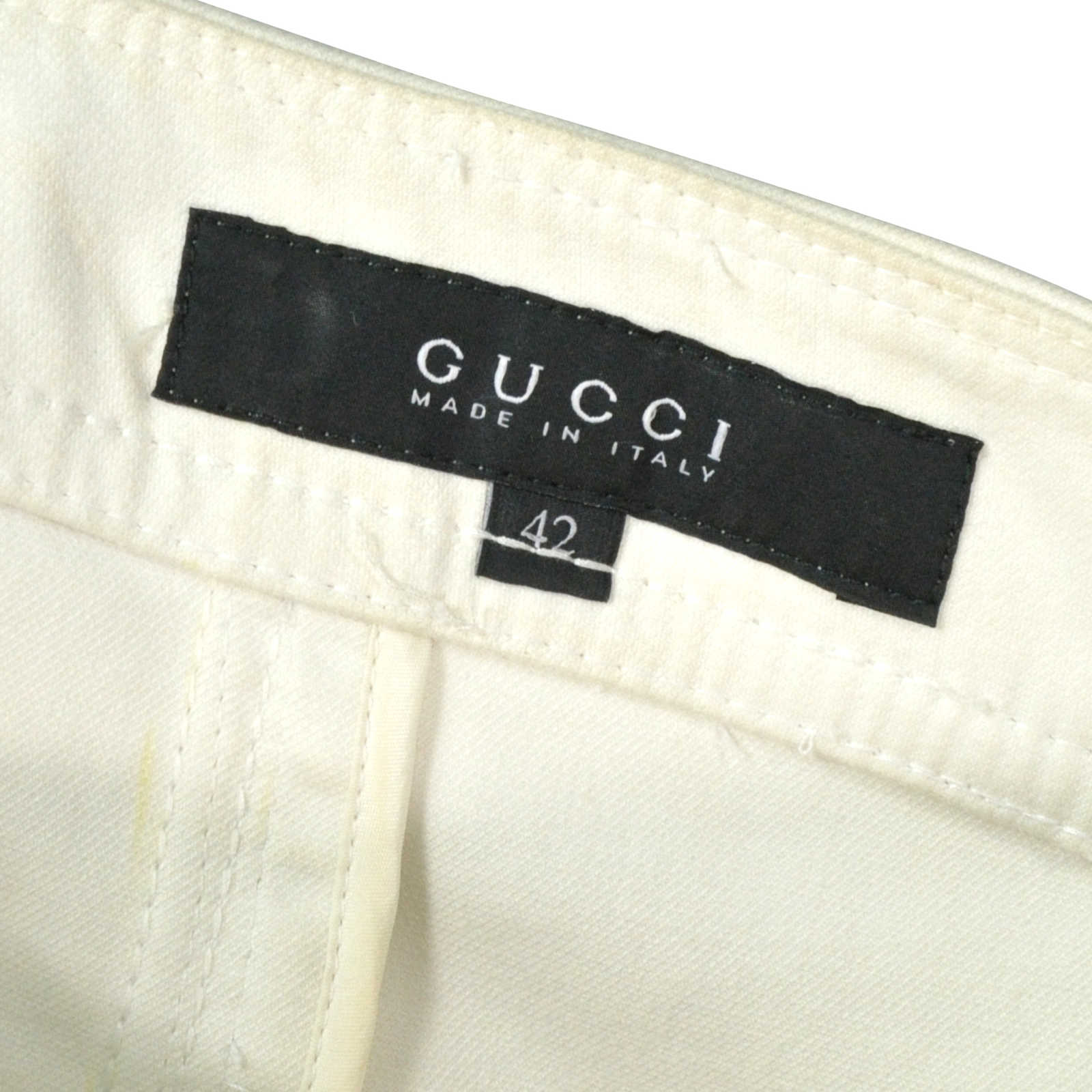 e5f8fefb145 ... Authentic Second Hand Gucci Pencil Skirt with Waistband Detail (PSS-246 -00181)