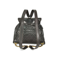 Chanel cc lambskin backpack 2