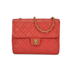 Mini Red Quilted Crossbody Bag