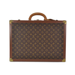 Louis vuitton monogram suitcase trunk 2