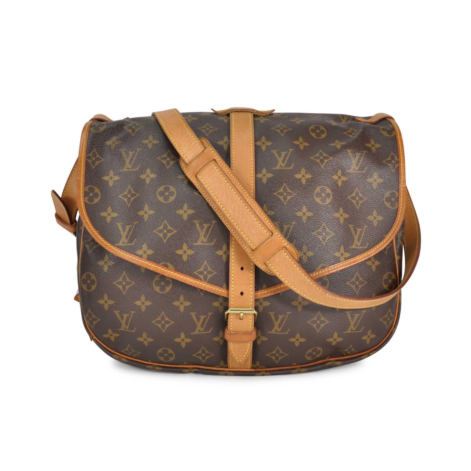 e8aea73bbd92 Tap to expand · Authentic Vintage Louis Vuitton Saumur Crossbody bag  (TFC-107-00037) - Thumbnail ...