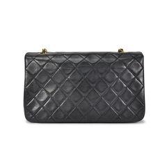 Chanel single flap crossbody black 2