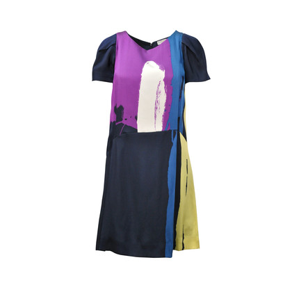 Chloe Graphic Printed Dress