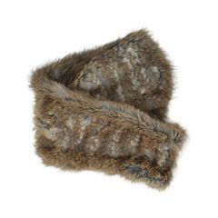 Cassin muskerat fur scarf 2