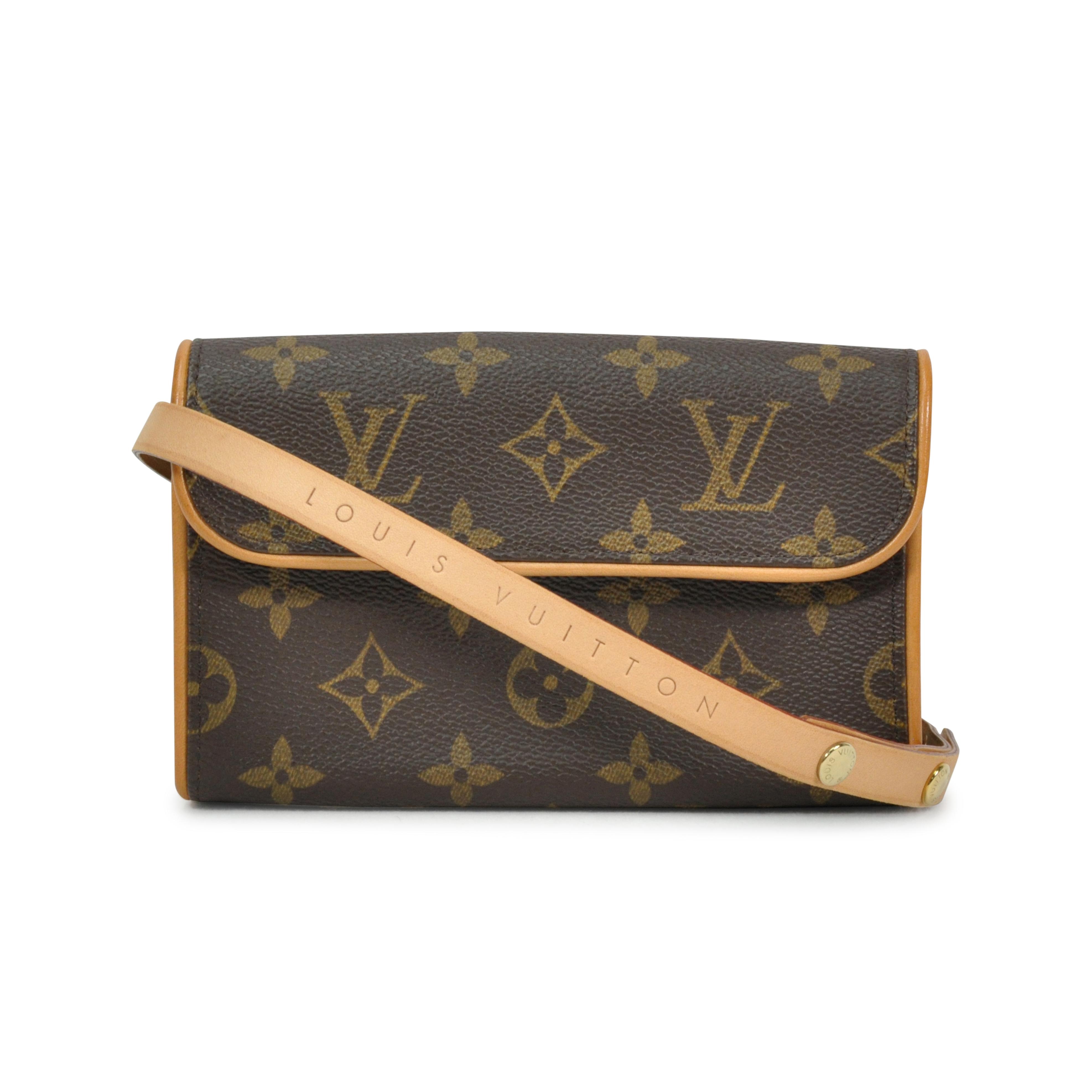 a7c36c058e59 Authentic Second Hand Louis Vuitton Pochette Florentine Waist Pouch  (PSS-298-00002)