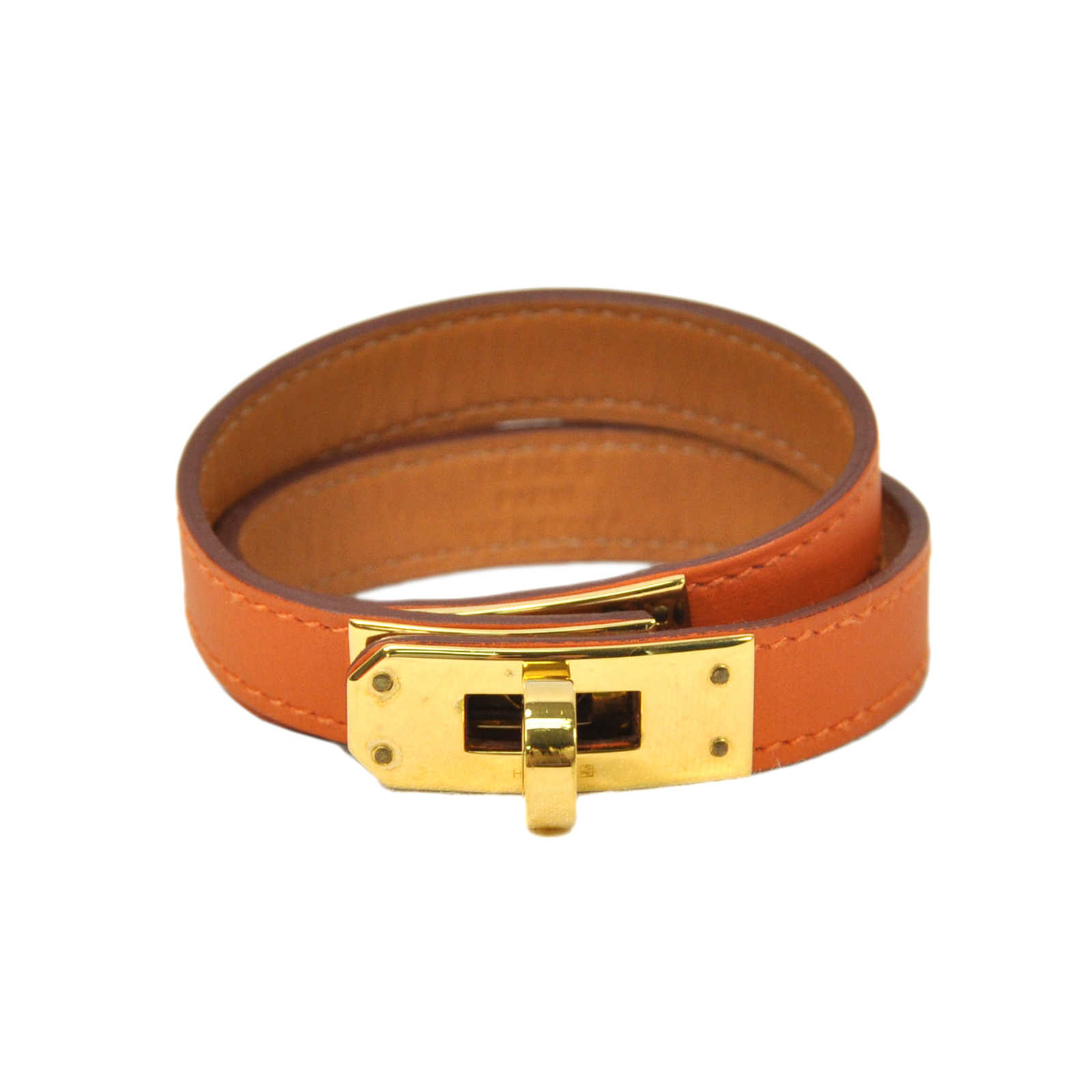 d7ac4c9a777f Authentic Second Hand Hermès Chamonix Kelly Double Tour Bracelet  (PSS-304-00006) ...