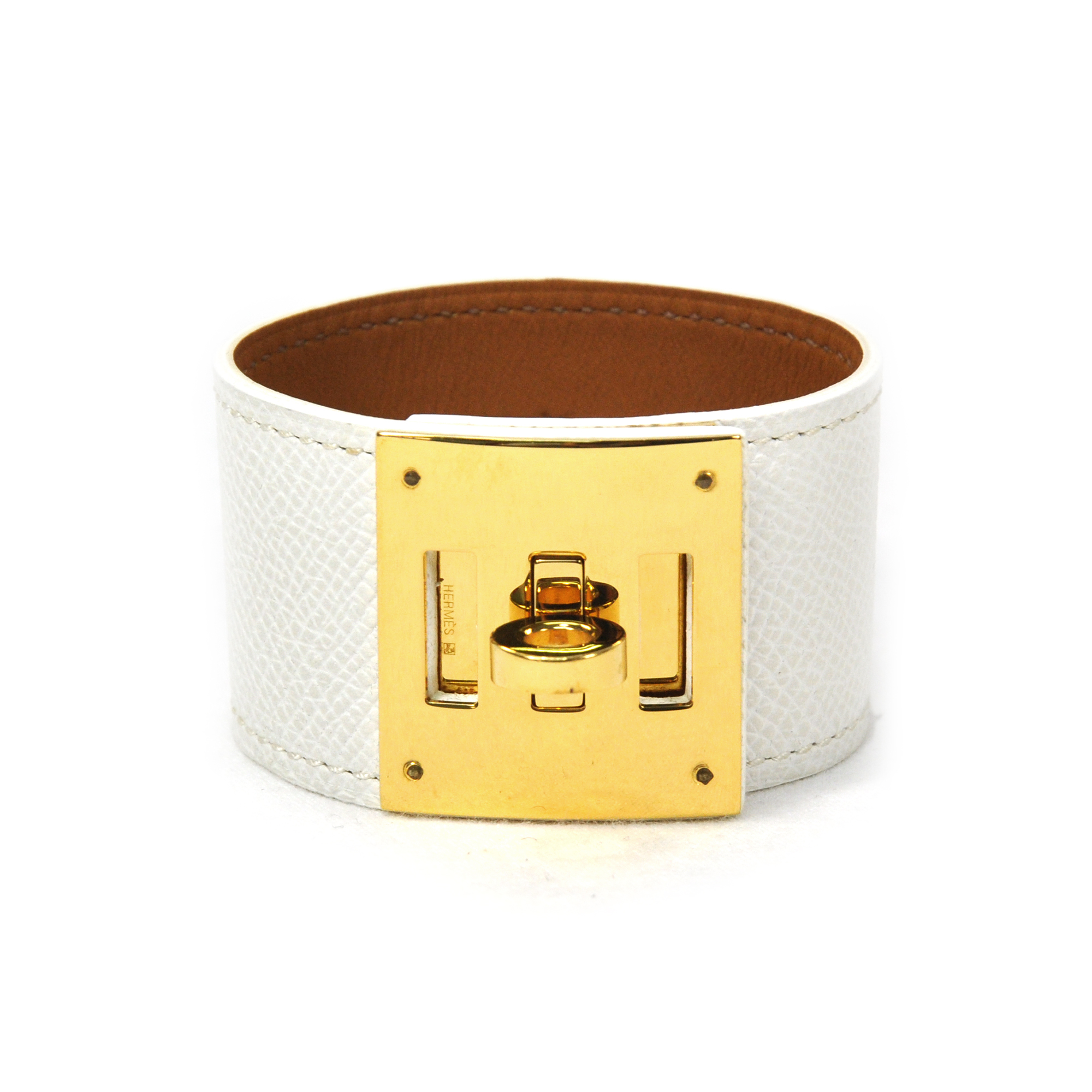 5f1c6176652e Authentic Second Hand Hermès Kelly Dog Bracelet (PSS-304-00007 ...