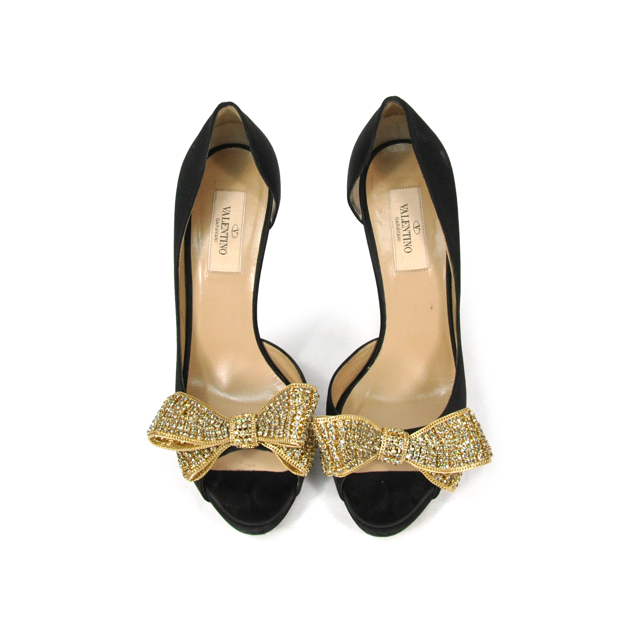 Authentic Pre Owned Valentino Jewelry Couture Bow D'Orsay ...
