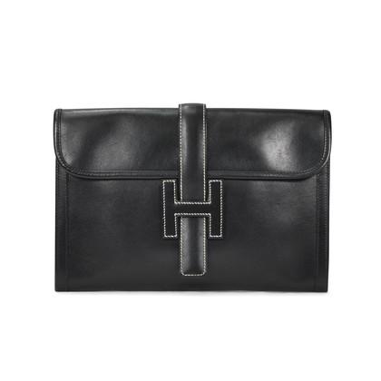 Authentic Second Hand Hermès Box Jige Clutch (PSS-304-00016)