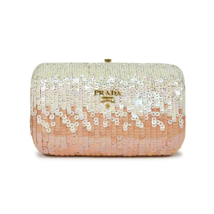 Prada Sequinned Clutch