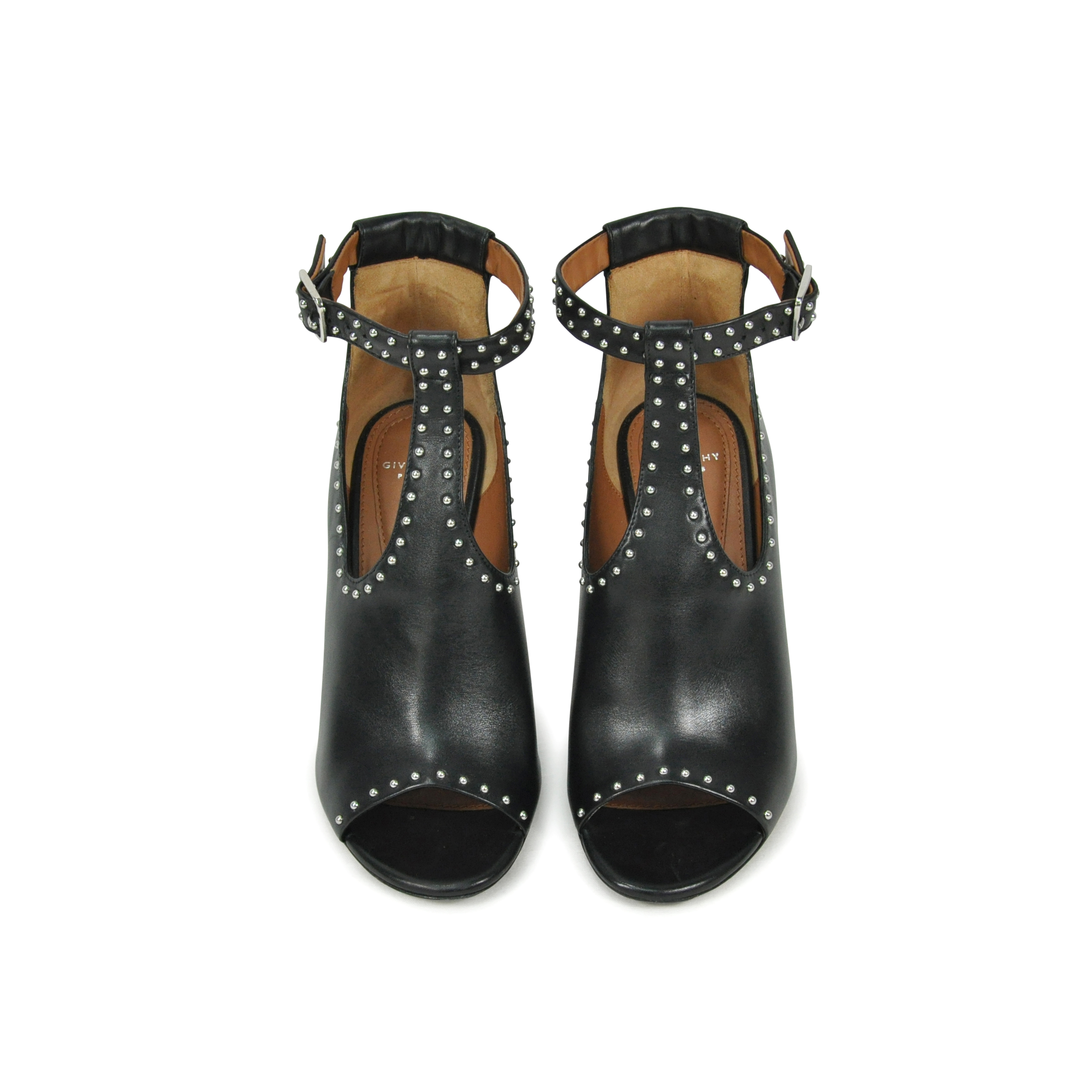 e12182f0cfd Authentic Second Hand Givenchy Pisca Studded Heels (PSS-143-00086 ...