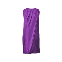 Alberta ferretti embellished purple dress 2