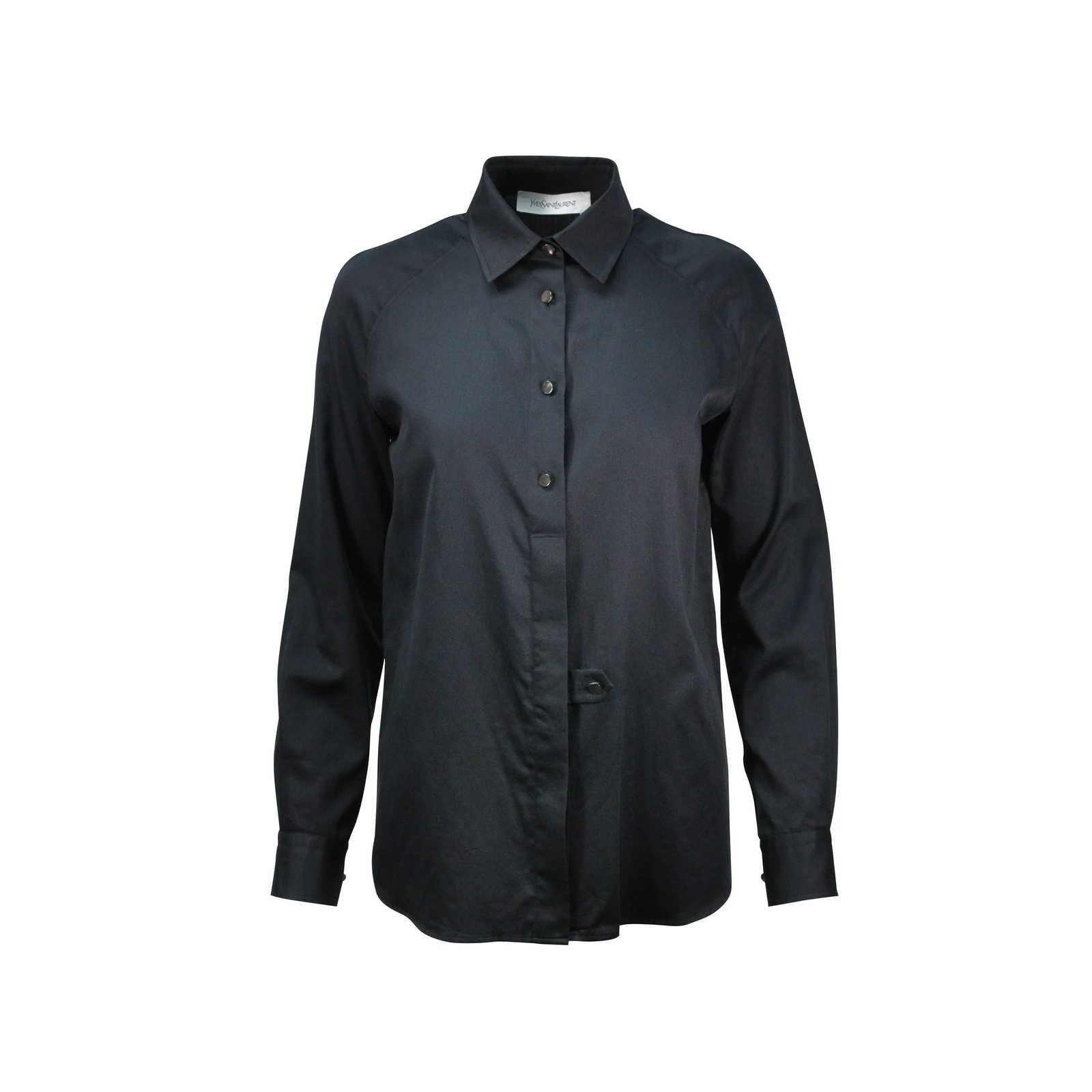 bed5e9c40c995 Authentic Second Hand Yves Saint Laurent Button Down Shirt (PSS-246-00206)  ...