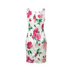 Dolce and gabbana dolce gabbana floral print shift dress 2