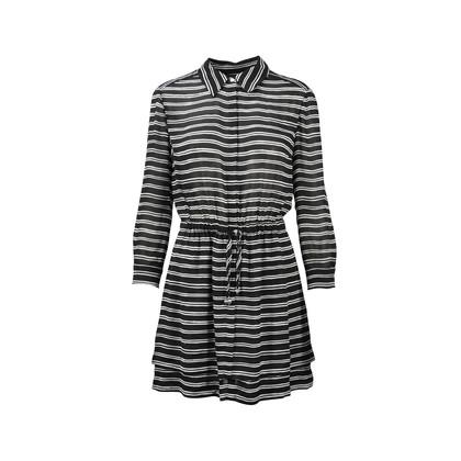Alc Stripe Gathered Dress