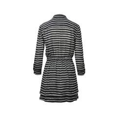 Alc alc black stripes dress 2