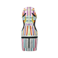 Mary katrantzou silk printed mini dress 2