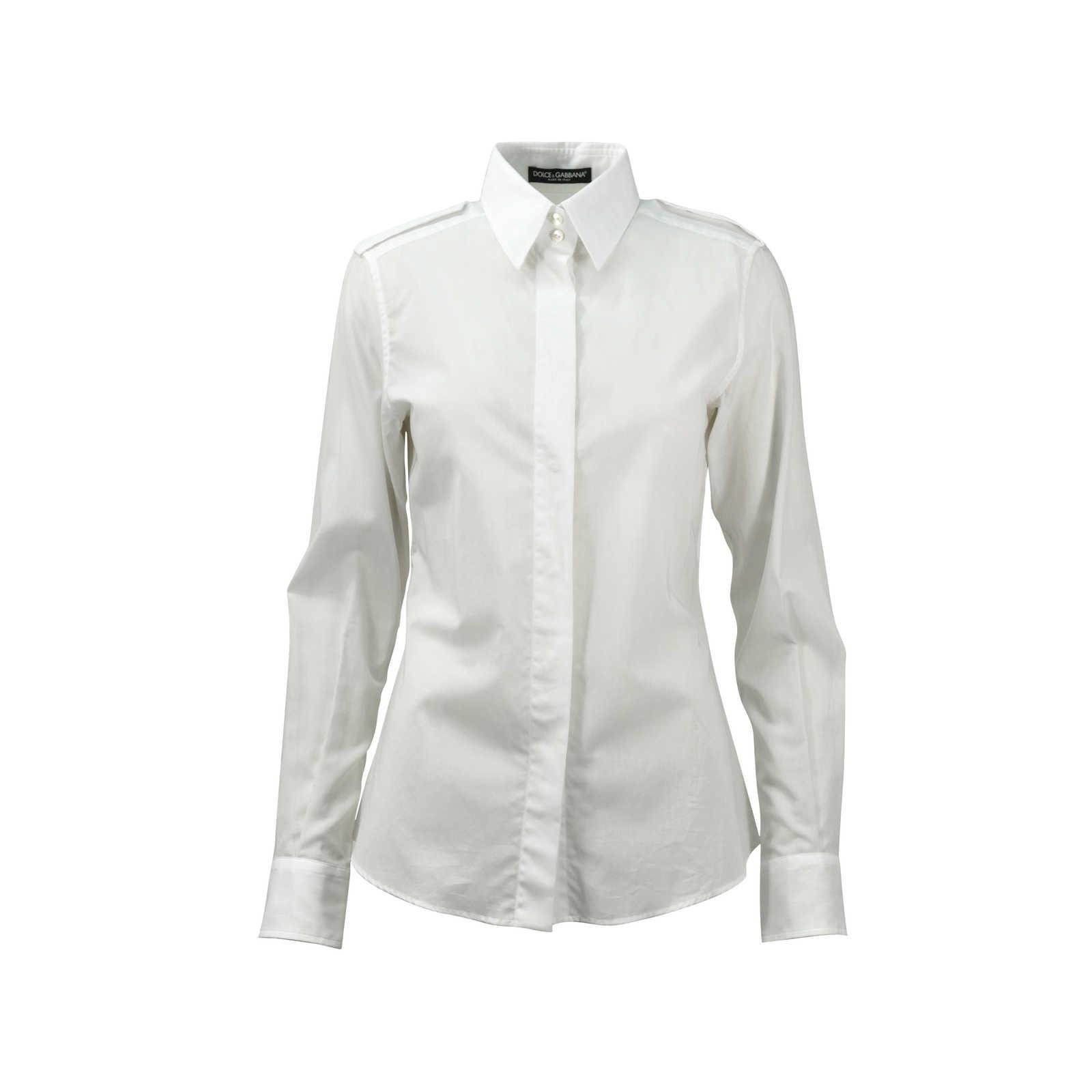 ee8b54ba729 Authentic Second Hand Dolce & Gabbana Men's White Shirt (PSS-080-00104) ...