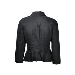 Chanel shoulder pad blazer 2
