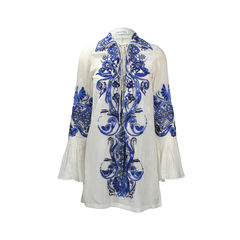 Embroidered Voile Tunic