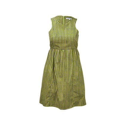 Carven Robe Popeline Sleeveless Dress