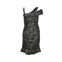Isabel marant becky glitter silk dress 2