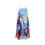 Clover Canyon Multi Colored Greek Dream Pleated Sundress - Thumbnail 0