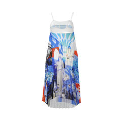 Clover canyon multi colored greek dream pleated dress 2
