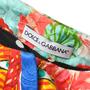 Dolce And Gabbana Fan Print Motif Overcoat - Thumbnail 2