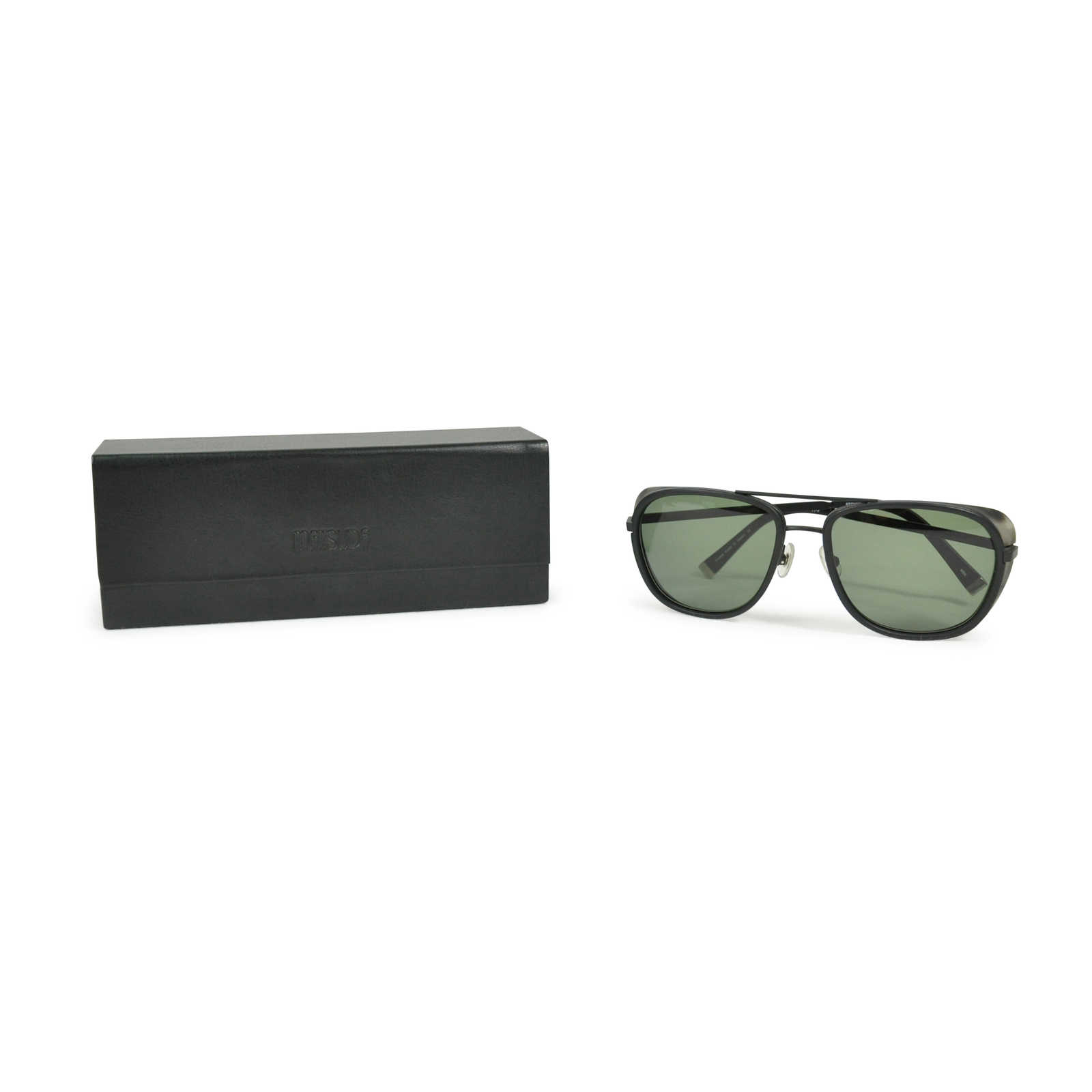 28583ff8377 ... Authentic Second Hand Matsuda Black Framed Sunglasses (PSS-200-00369) -  Thumbnail