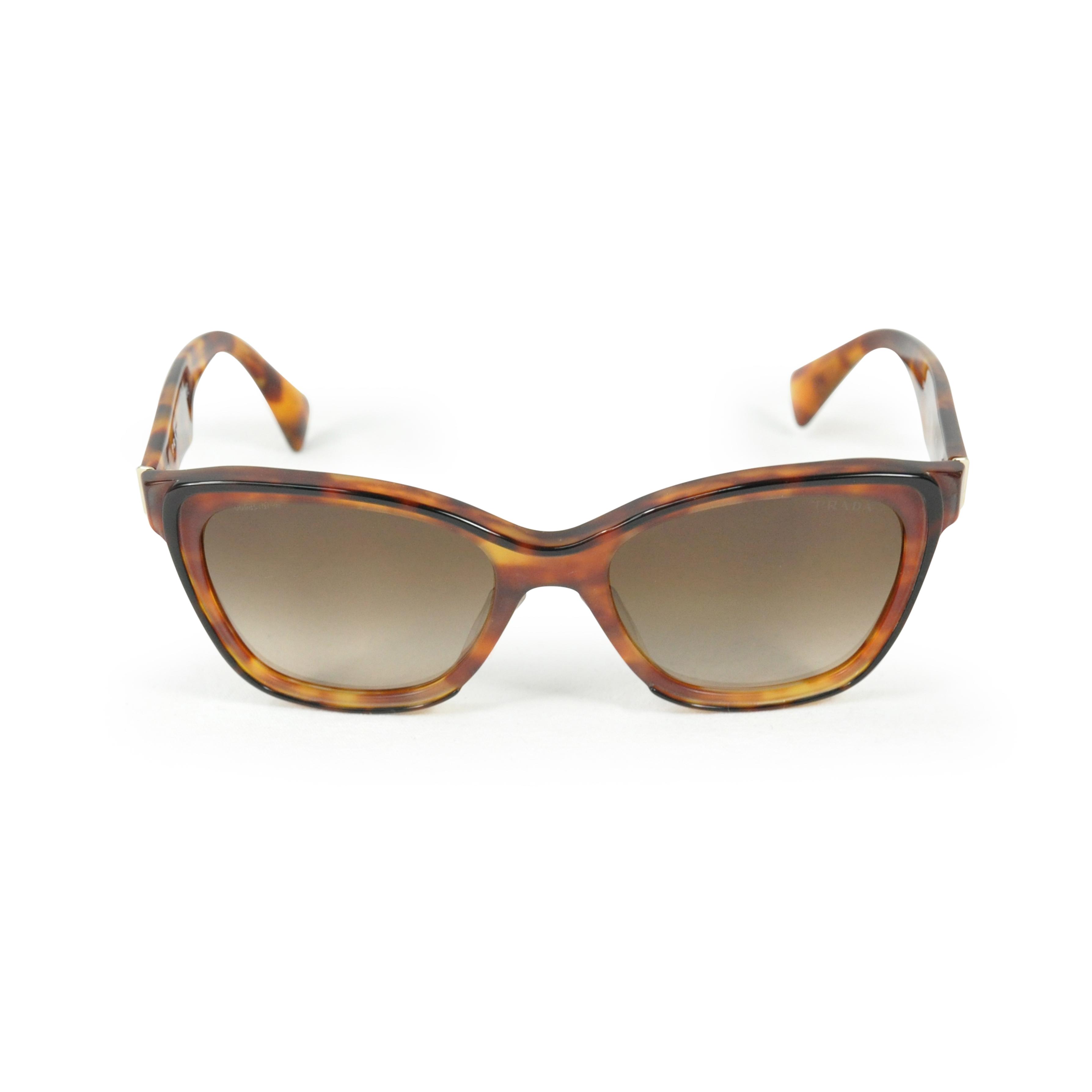 2c16640d41 Authentic Second Hand Prada Tortoise Shell Sunglasses (PSS-200-00376)