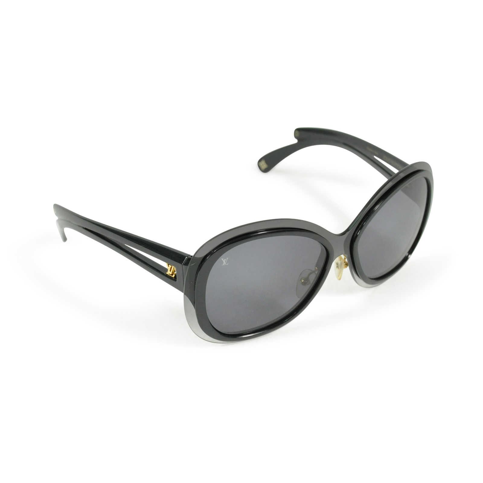 3d6fecd15663 ... Authentic Second Hand Louis Vuitton Flor Oversized Sunglasses  (PSS-200-00386) ...