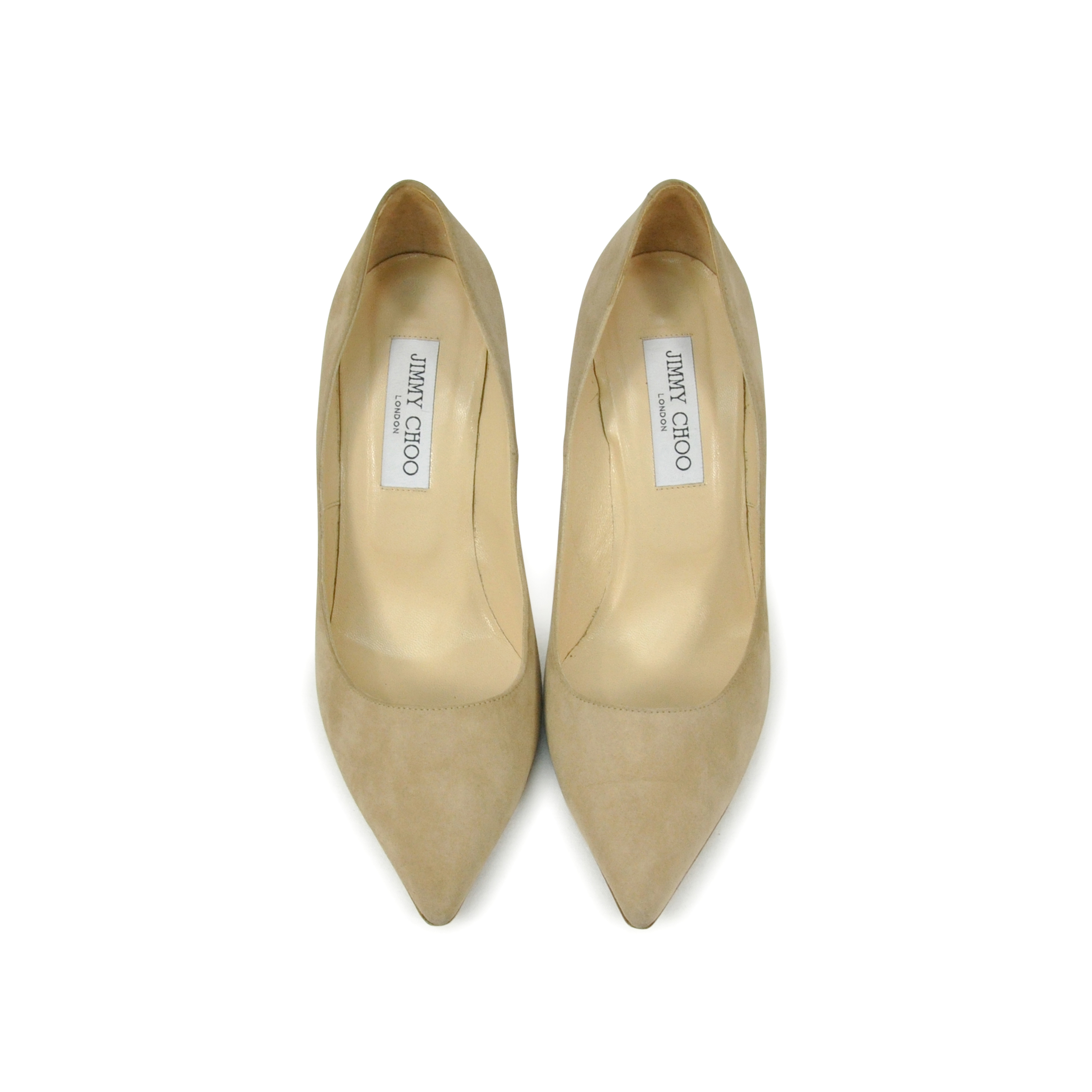 feeaeab8ac Authentic Second Hand Jimmy Choo Romy Suede Pointed Pumps (PSS-286-00013) -  THE FIFTH COLLECTION