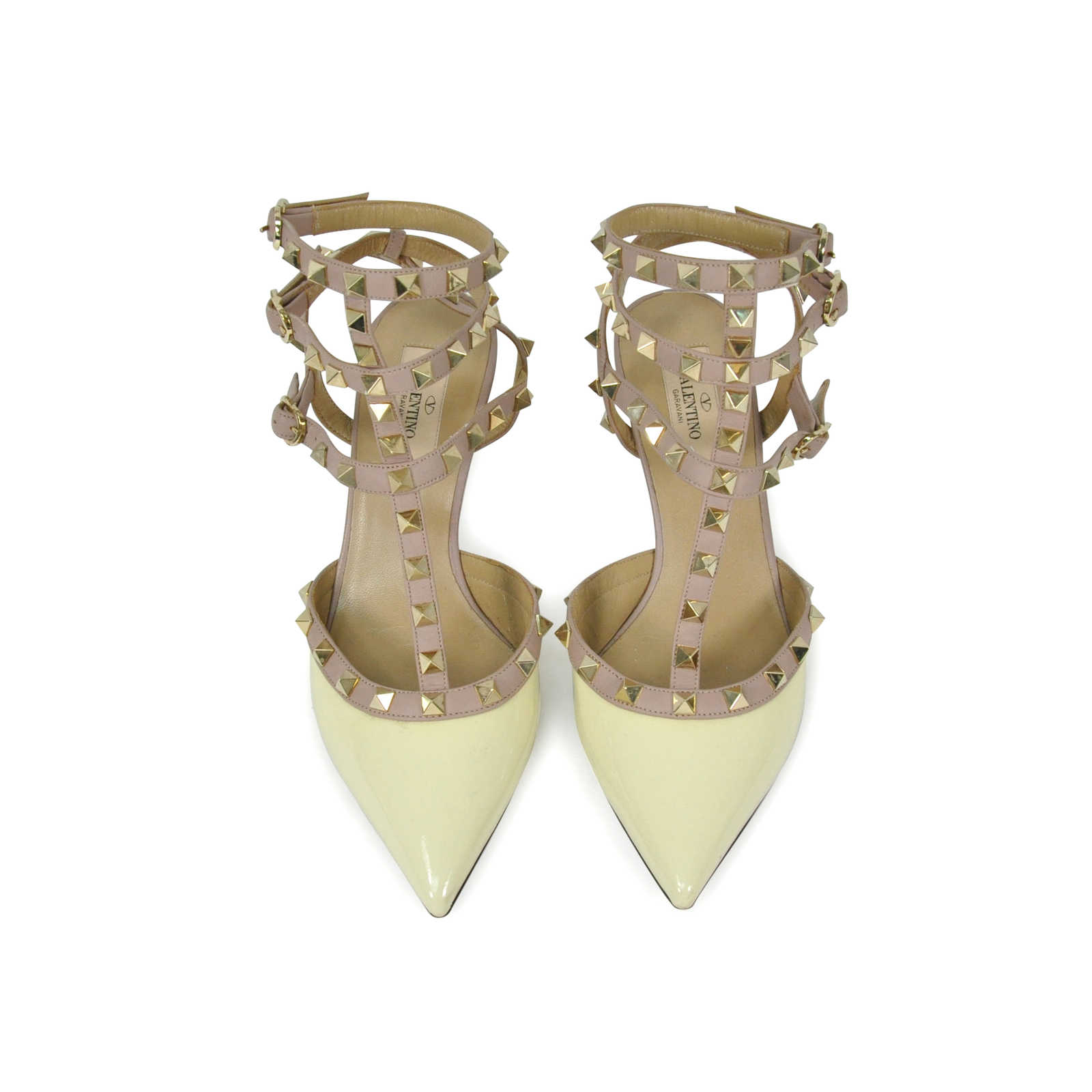 36a66dbe2 Authentic Second Hand Valentino Rockstud Patent Pumps (PSS-286-00024) -  Thumbnail ...