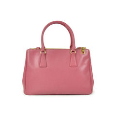 Prada galleria medium textured leather tote 2