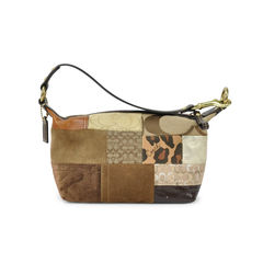 Coach patchwork tote bag 2