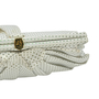 Authentic Second Hand Lulu Guinness Bow Detailed Ruffle Clutch (PSS-304-00023) - Thumbnail 3