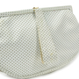 Authentic Second Hand Lulu Guinness Bow Detailed Ruffle Clutch (PSS-304-00023) - Thumbnail 4