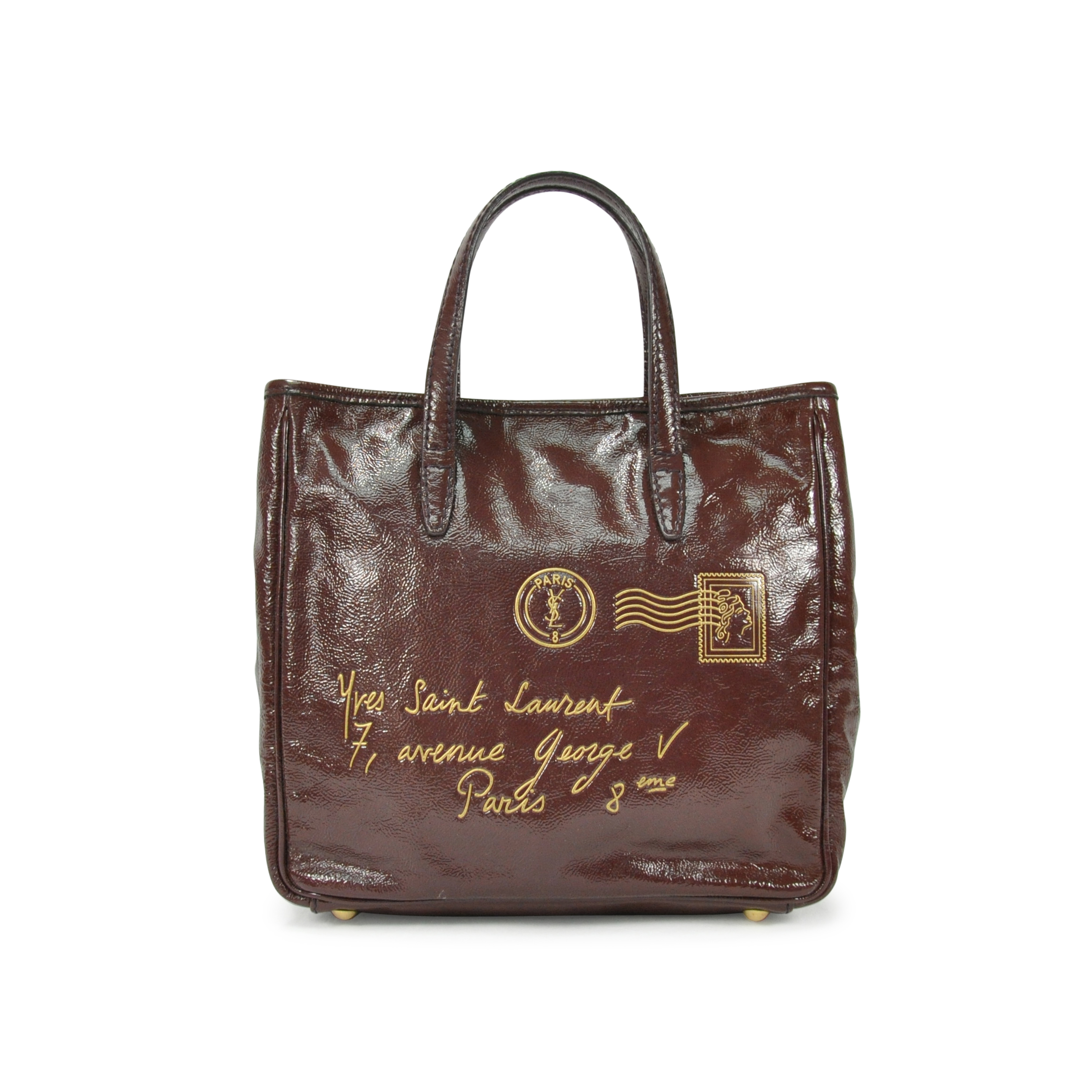 06183378ecb4 Authentic Second Hand Yves Saint Laurent Y-Mail Tote Bag (PSS-304-00032)